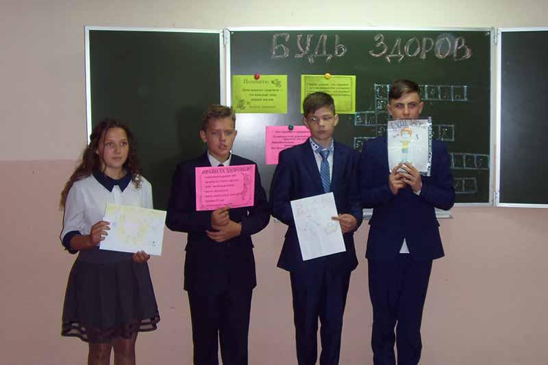 Школы Клинцовского района присоединились к всероссийскому урок здоровья