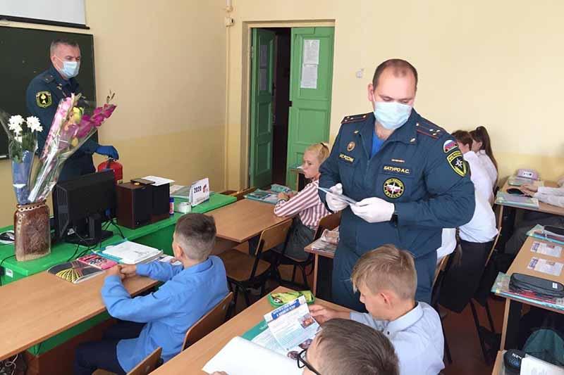 В образовательных учреждениях Клинцов проведены открытые уроки по безопасности
