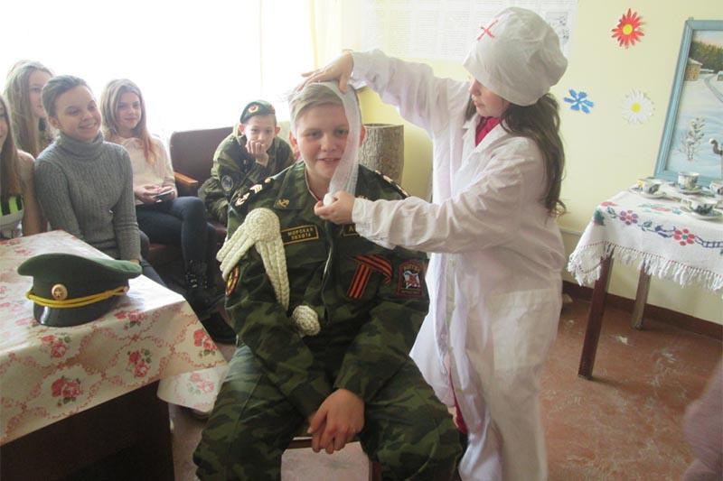 Подростки Клинцовского района прошли патриотический квест «По дорогам Великой Отечественной войны»