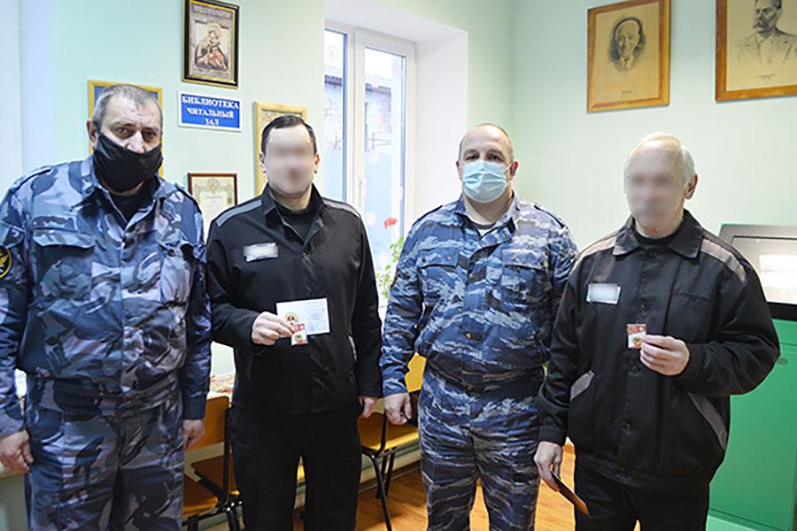Осужденные ИК-6, город Клинцы, добегались и допрыгались. Лучшим из них вручили золотые знаки ГТО