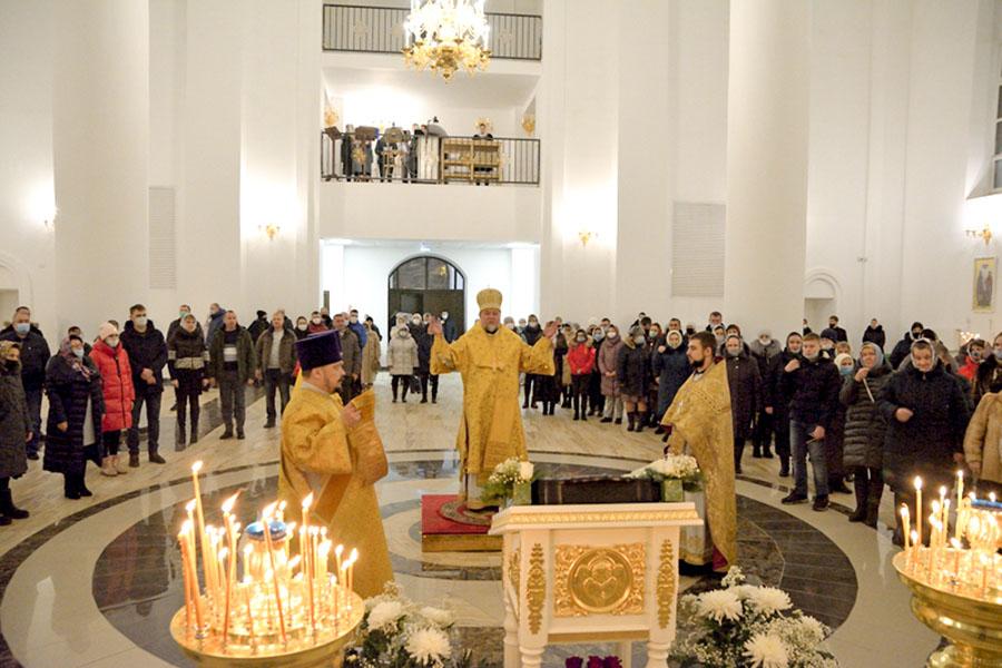 В Клинцах состоялось Рождественское богослужение