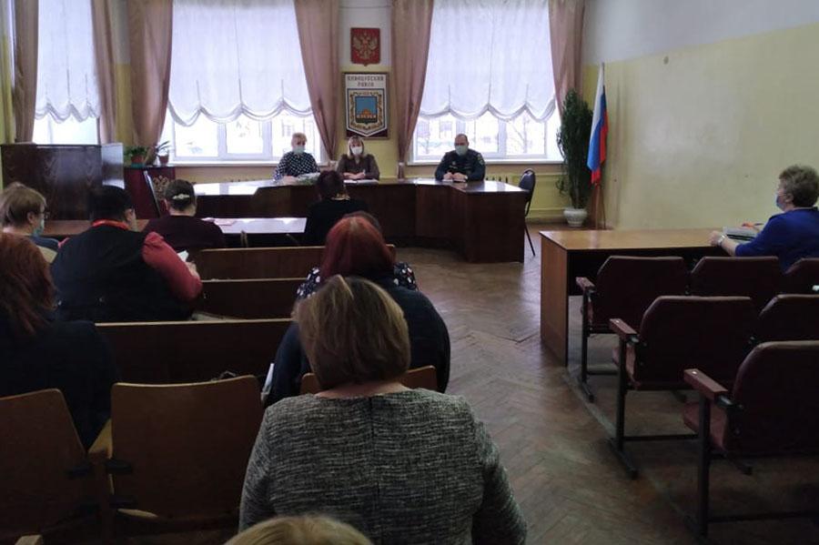 В Клинцах для руководителей организаций и предприятий города провели занятие по изменению законодательства в обеспечении пожарной безопасности