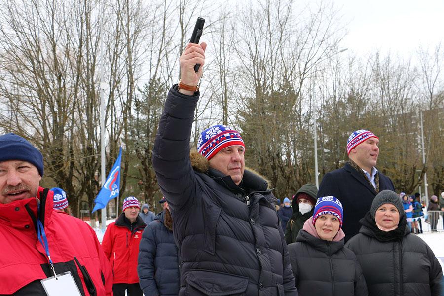 В Брянске состоялся региональный этап Всероссийской массовой лыжной гонки «Лыжня России-2021»