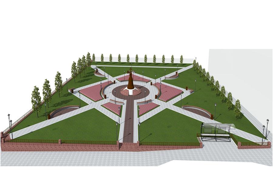 Жителям Клинцов предлагается выбрать дизайн-проект для перезагрузки Сквера основателям города