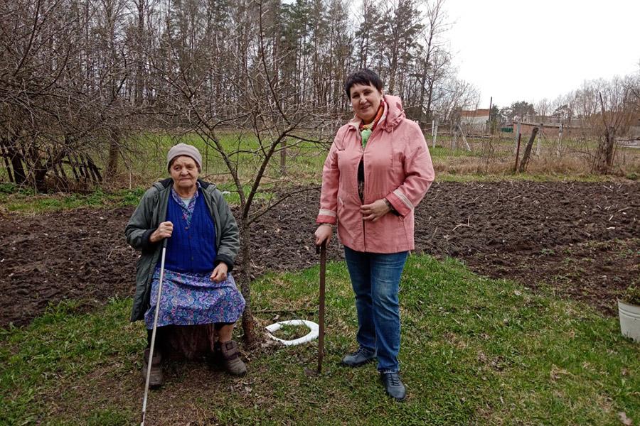 Волонтеры культуры Клинцовского района оказывают помощь землякам