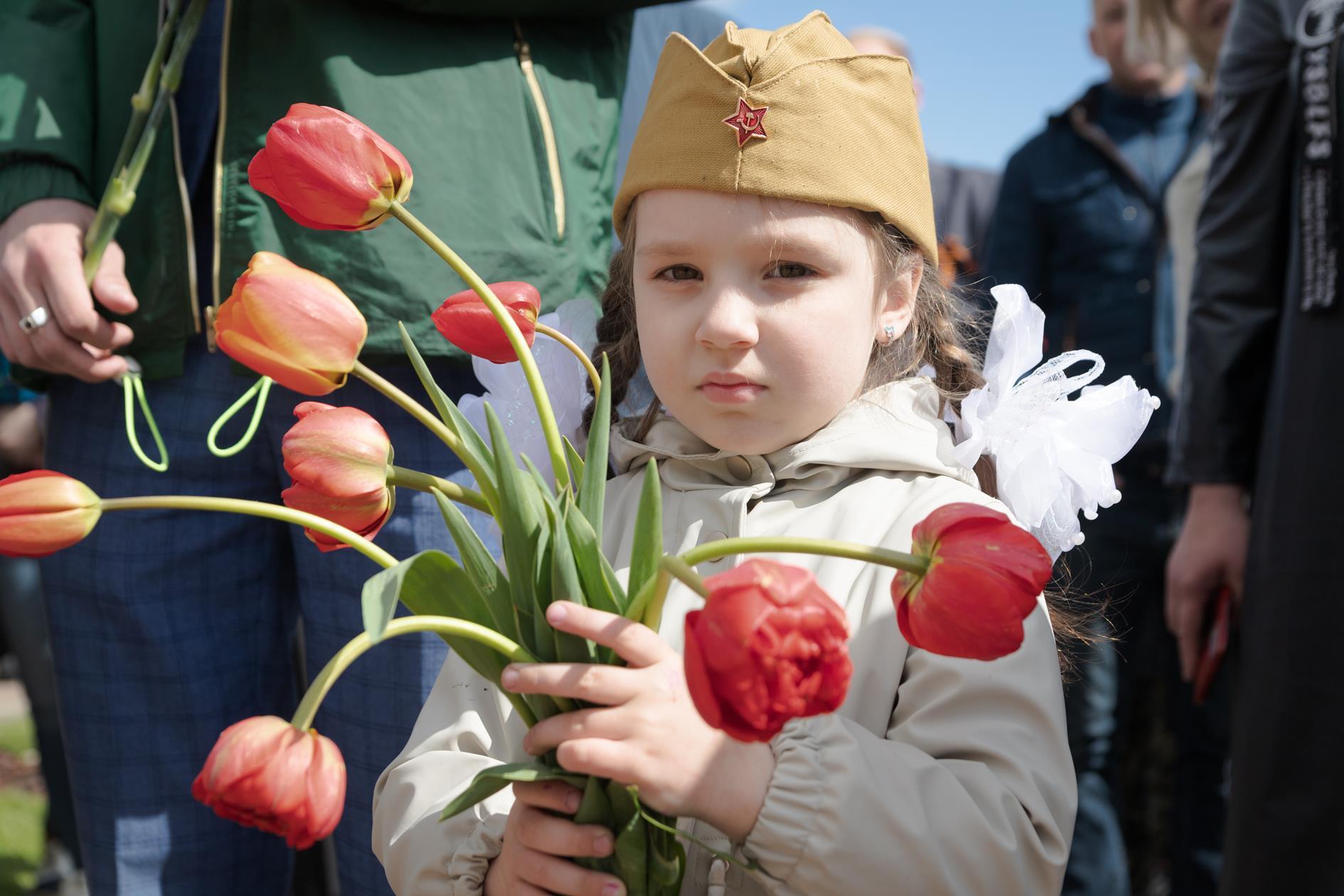 День Великой Победы в Клинцах'2021. Памятник Героям Отечества