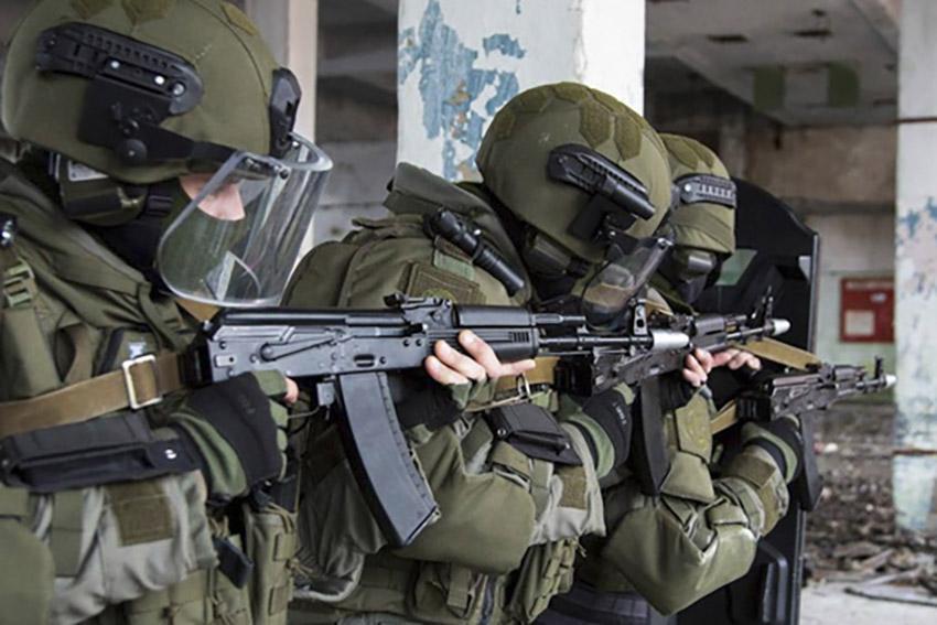 В Брянской области условный противник захватил укрепленное здание и был уничтожен нашими военнослужащими