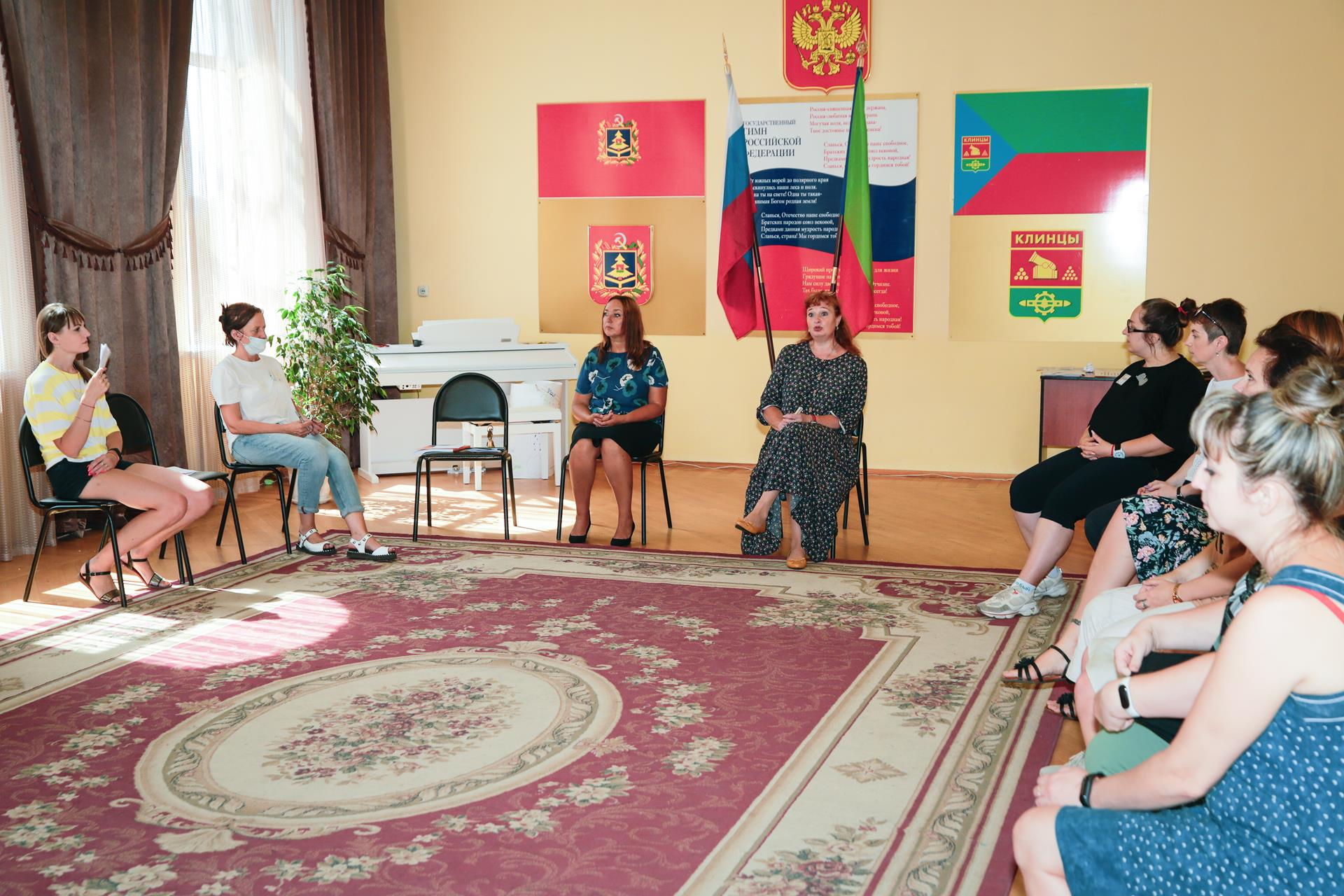 В Клинцах проходит 5-дневный обучающий семинар для педагогов-психологов средних общеобразовательных школ города по программе «ЛадьЯ»