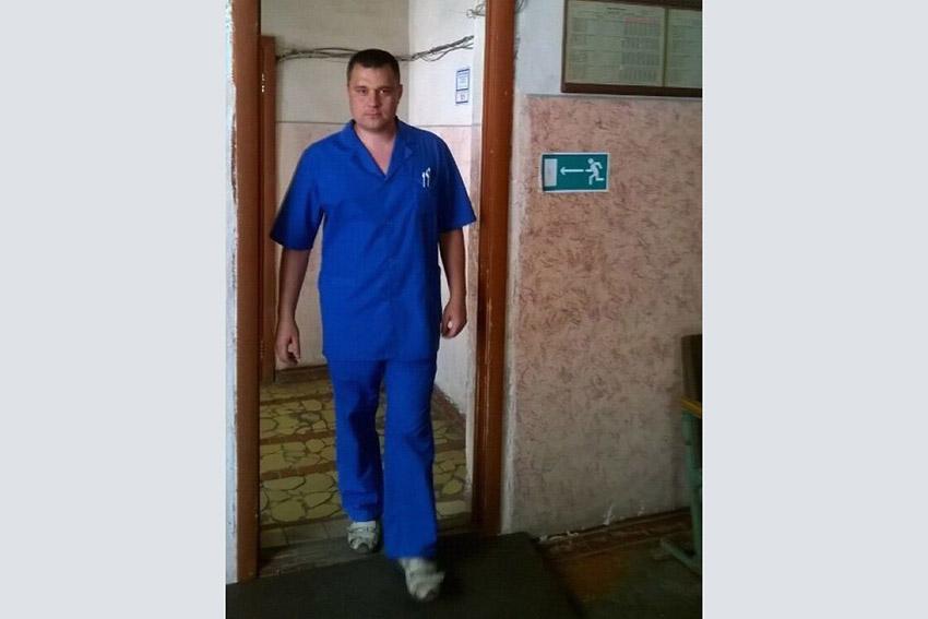 Жительница Клинцов и ее семья благодарит фельдшера Скорой помощи Алексея Барботько за спасение жизни