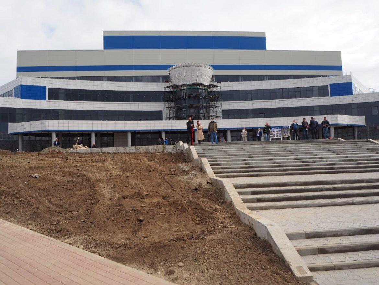 Эксперт ОНФ отметил, что строительство Дворца единоборств в Брянске вышло на финишную прямую