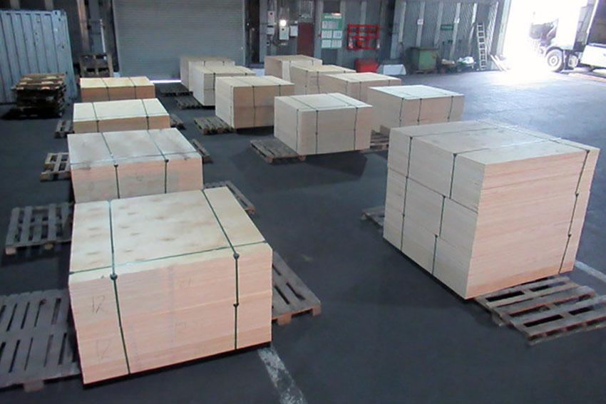Брянские таможенники предотвратили вывоз более 2,5 тонн пиломатериалов