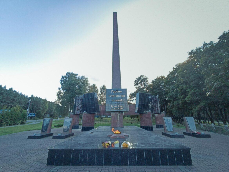 Памятник Героям Отечества – самый величественный памятник в Клинцах