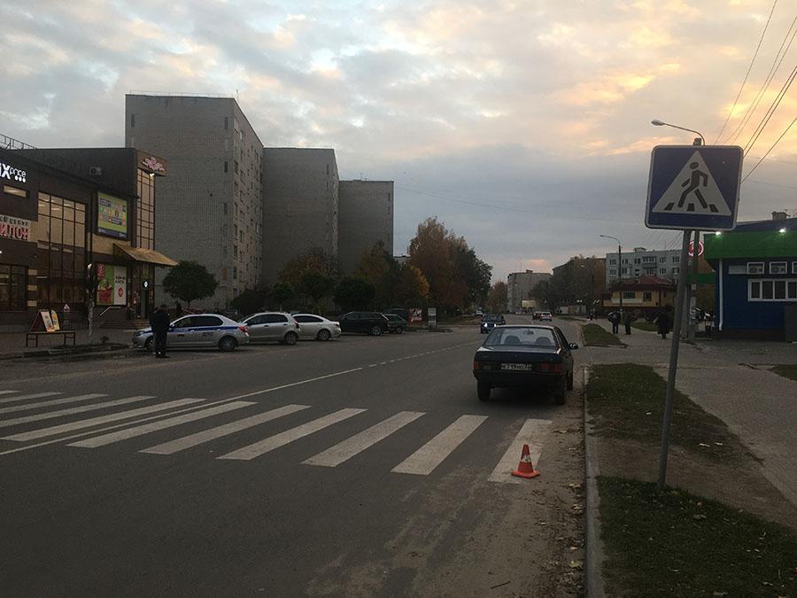 В Клинцах на женщину-пешехода совершен наезд