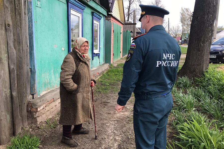 Сотрудники ОНДиПР в Клинцах и Клинцовском районе проводят профилактическую операцию «Отопительный сезон»